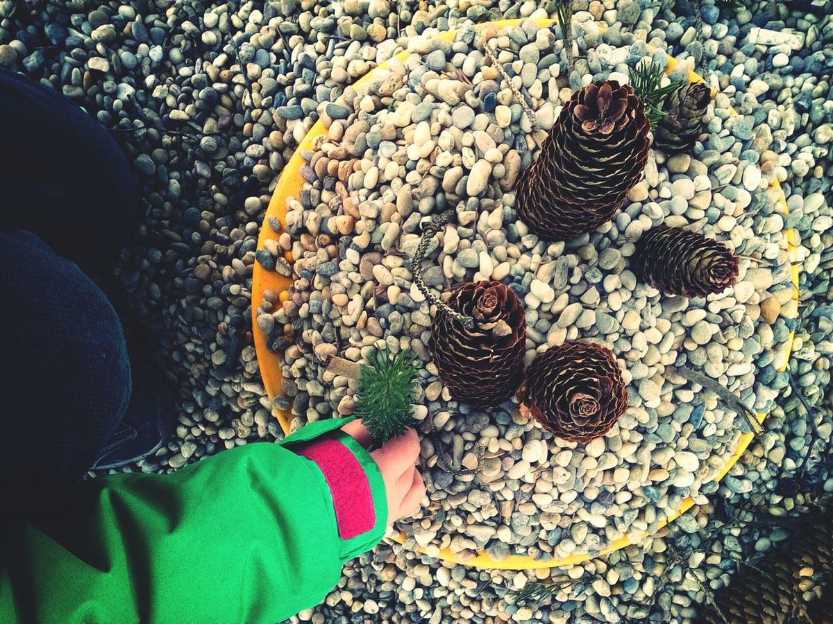 Cones Cake Kids Being Kids Kids Baking Pebbles Outdoors