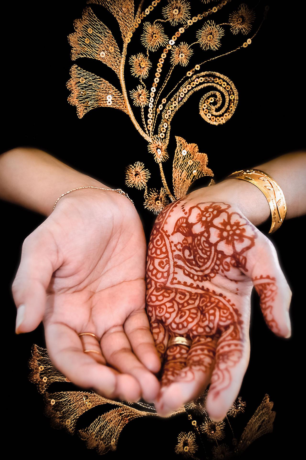 Art Black Close-up Colour Culture Dark Design Floral Fun Golden Henna Henna Art Henna Design Henna Tattoo Henna Tattoo ❤ Indian Muslim Outdoors Palm Prayer Praying Red Tattoo Traditional Woman