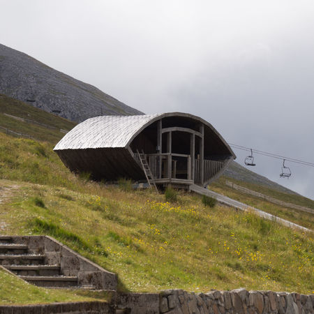 Shelter On Top Of Aonach Mor Aonach Mor Nevis Range Mountain Resort Scotland Ski Lift Architecture Building Exterior Built Structure Day Grass Highlands Hut Mountain Nature No People Outdoors Scottish Highlands Shelter Ski Resort  Sky Summer