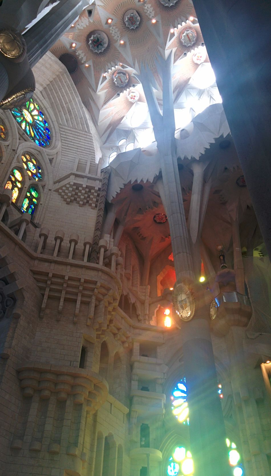 Architecture Barcelona Beauty Flowers Gaudi Lights Other Dimensional Being Sacrada Familia SPAIN Stone Flowers