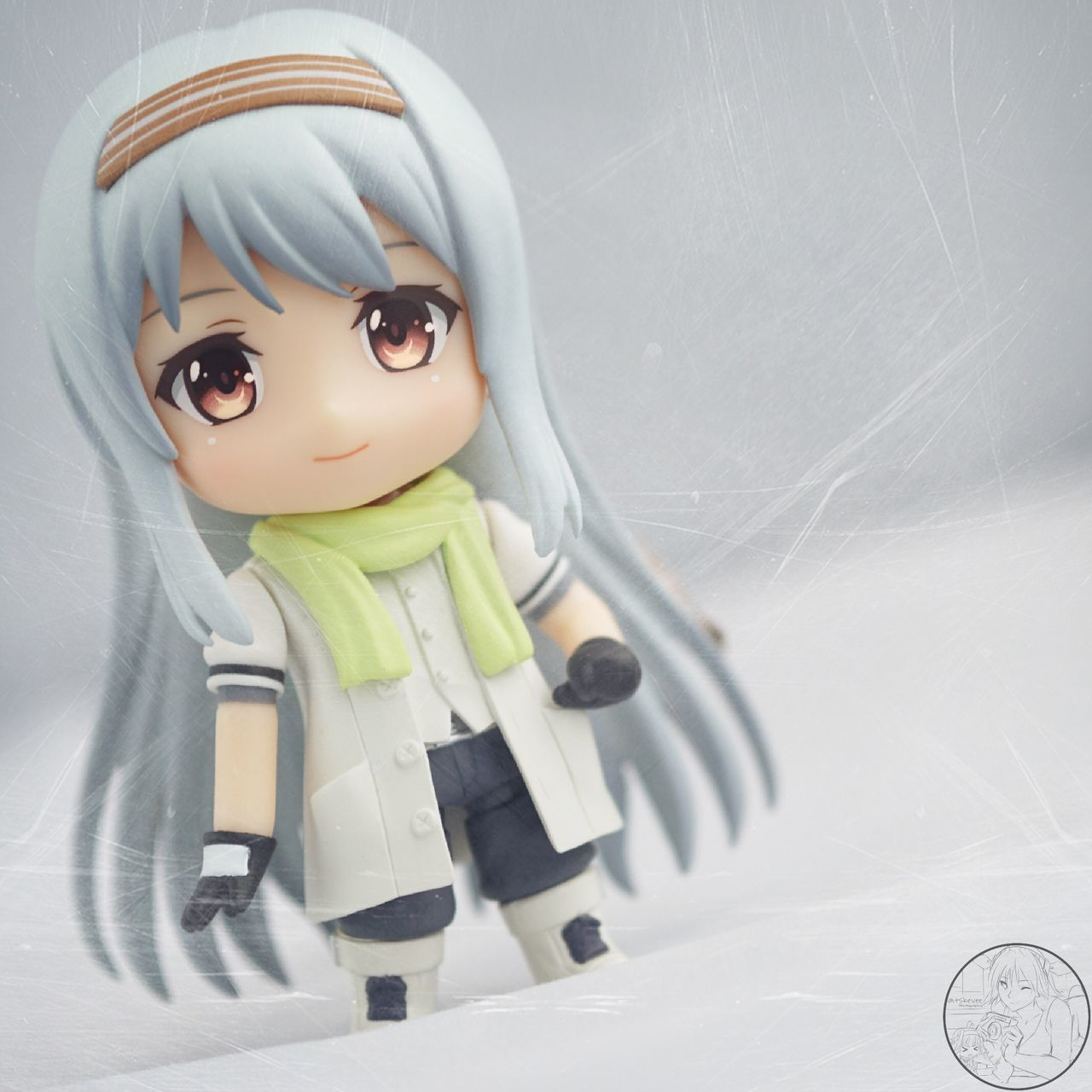 Shoukaku enjoying the weather Human Representation Childhood High Angle View Female Likeness No People Indoors  Figurine  Close-up White Background Day Anime Kantaicollection Kancolle Shoukaku Nendoroid