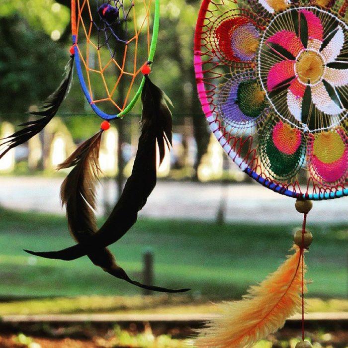 Dreamcatcher Atrapasueños Apanhadordesonhos Color Colors Great Beautiful ñanduti Great_captures_paraguay Paraguay Plumas