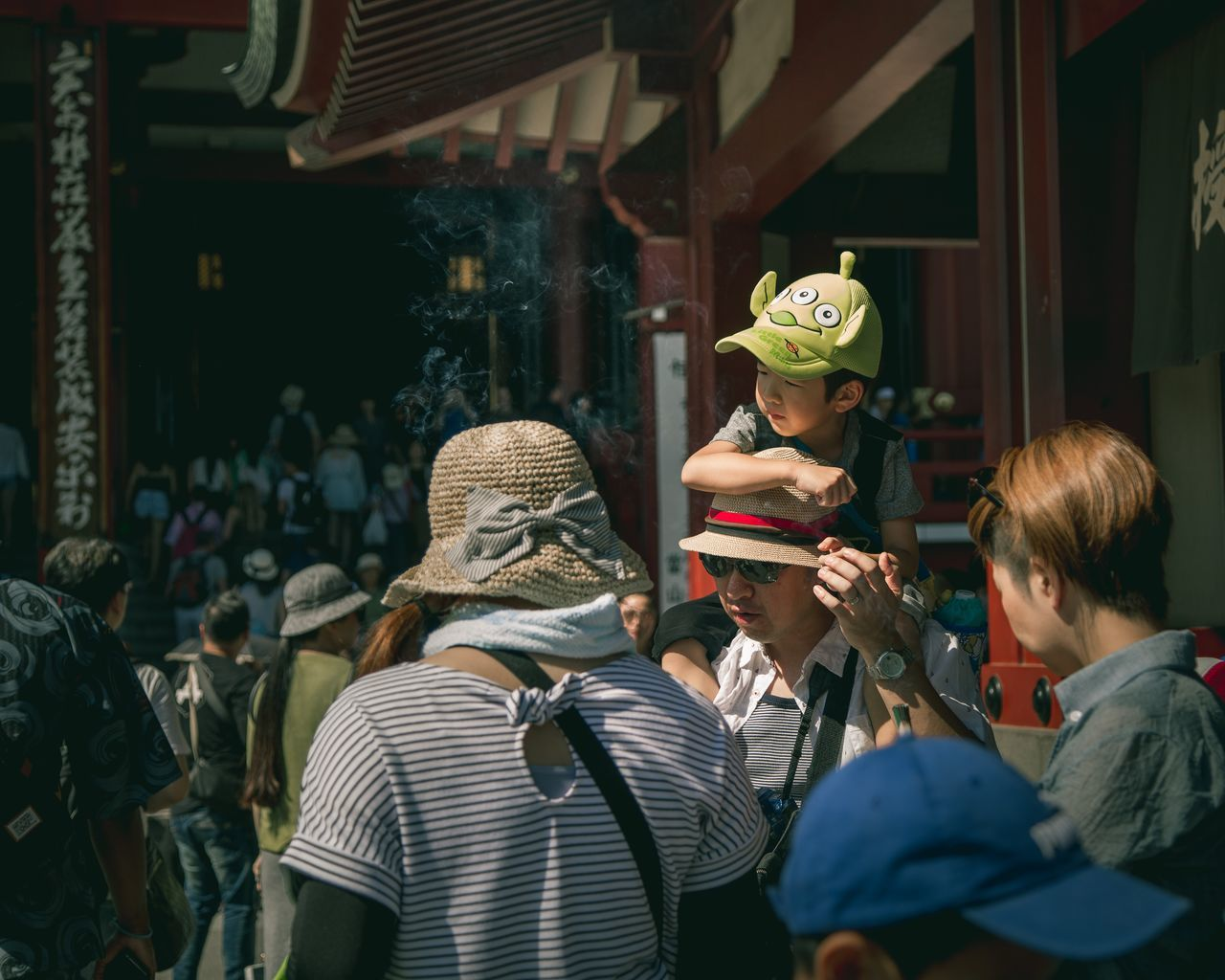 Found a baby Martian in Tokyo Travel Destinations Portraits Of EyeEm Natural Light Portrait Traveller Adventure Travelling Outdoors Street Photography Street Japan Japan Street Photography Tokyo Tokyo Street Photography Asakusa Sensoji Temple Child Japanese Child Japanese Kid
