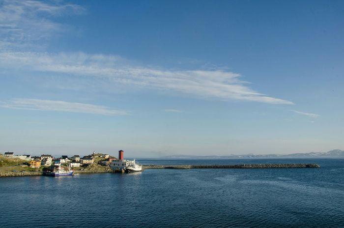 Honningsvag Landscape Landscapelovers Sea Ocean