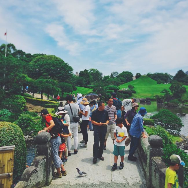 People Green Clouds And Sky Japan Culture Pray For Kumamoto Hanging Out Eyem Best Shots Snapshots Of Life IPhoneography