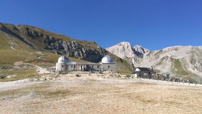 Mountain Observatory Campo Imperatore Ski Nature