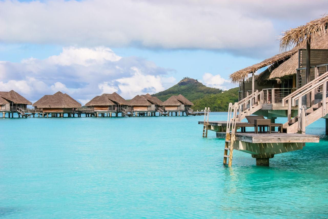 Beautiful stock photos of bora bora, water, architecture, sky, building exterior