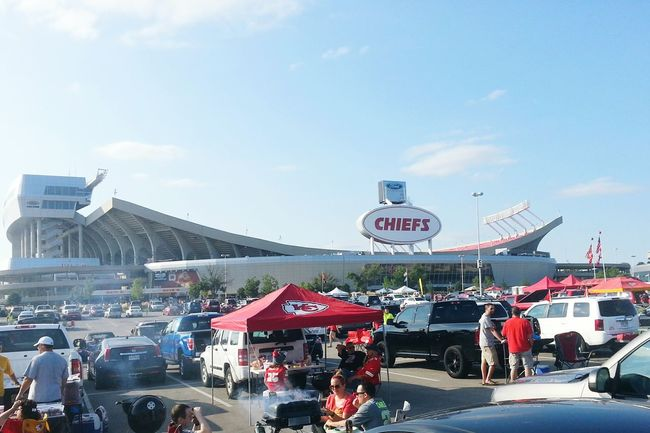 Went to the Chiefskingdom game last night to root for the Seattle Seahawks :) great Stadium !!