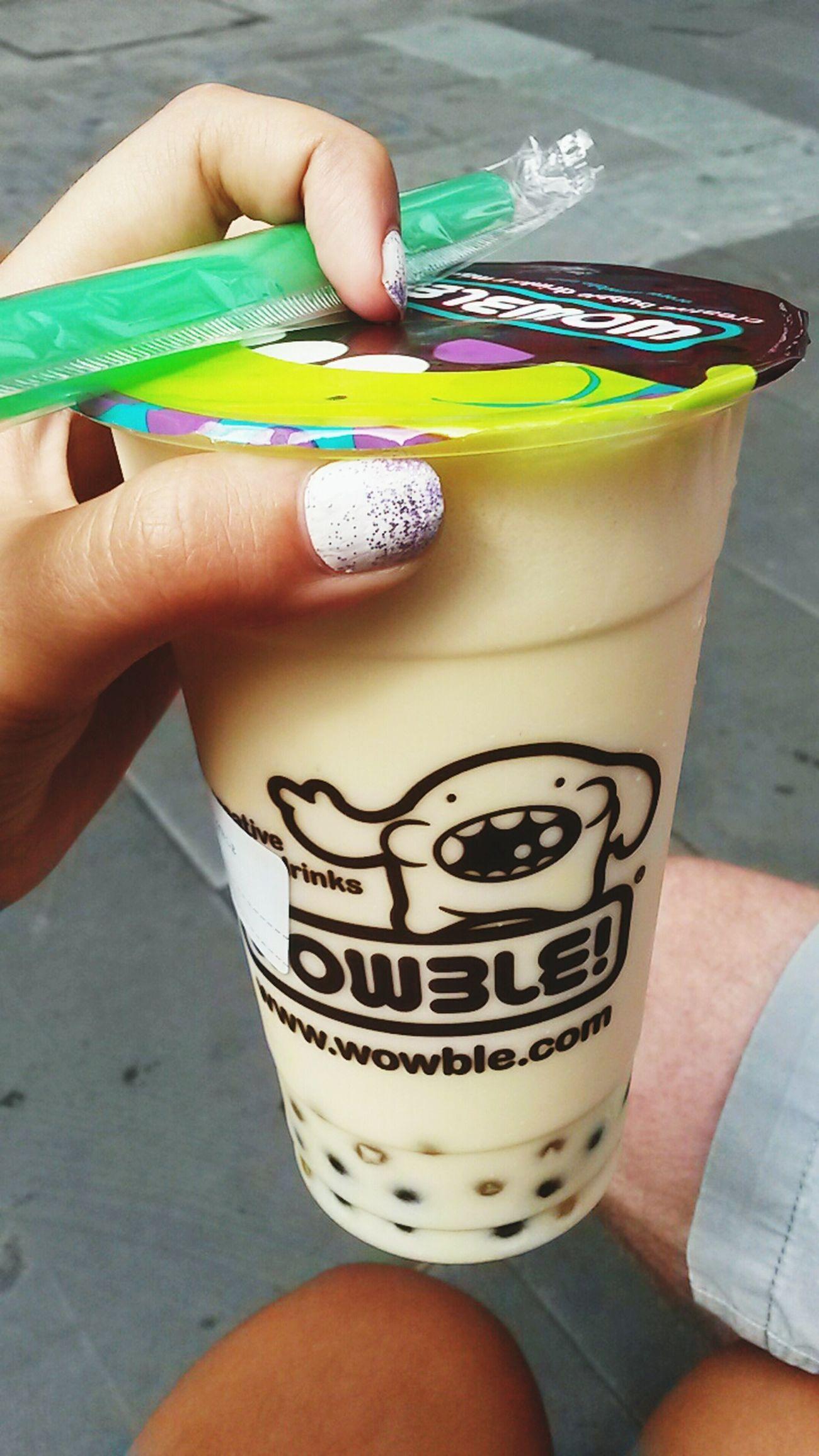 Descubriendo sitios nuevos Milkshake♥ Melon Blackberry