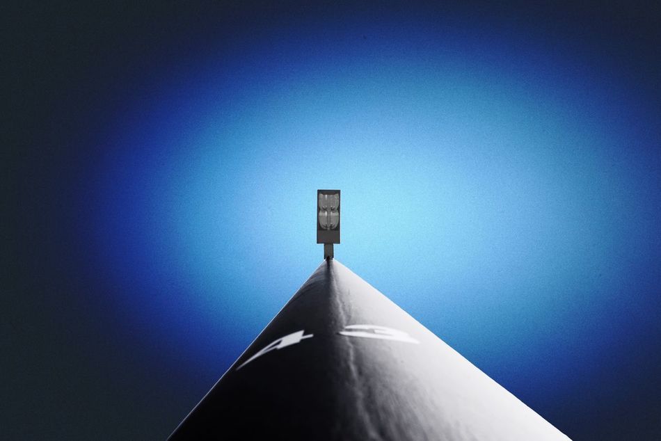 Blue No People Clear Sky Low Angle View Architecture Sunlight Built Structure Shadow Day Outdoors Close-up Sky
