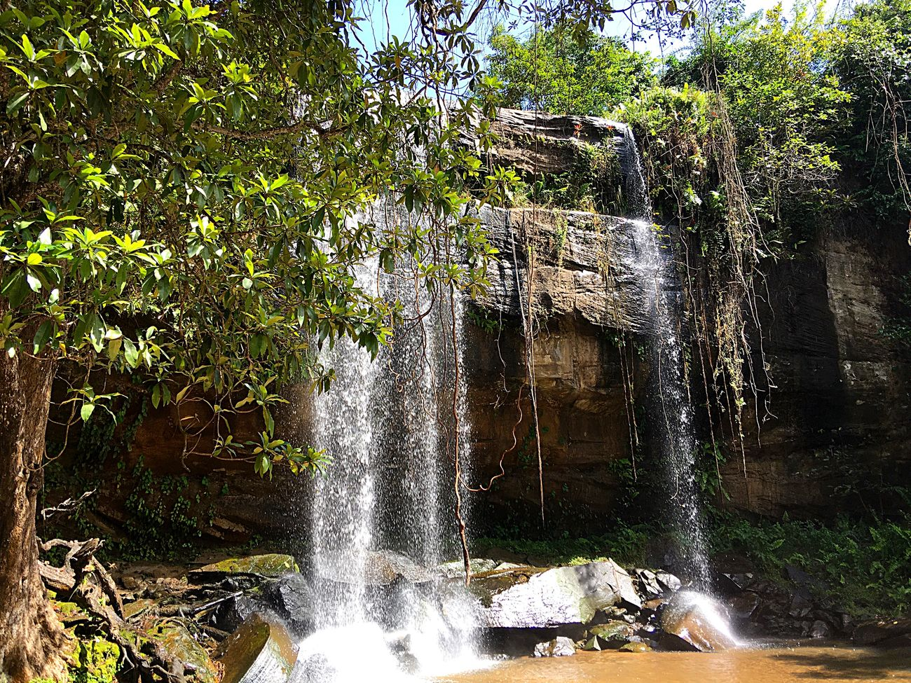 Sheldrick Falls Kwale Kenia Waterfall Nature Nature Photography Naturelovers Nature_collection Water Silence Of Nature Beautiful Nature Secret Places