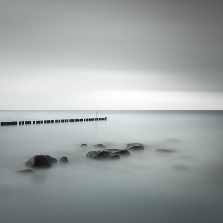 scenic view of sea against sky Baltic Sea Beauty In Nature Day Fine Art Germany Horizon Over Water Kühlungsborn Long Exposure Minimalism Muted Colors Nature No People Ocean Outdoors Philipp Dase Scenics Sea Sea And Sky Seascape Sky Summer Tranquil Scene Tranquility Water Waterfront