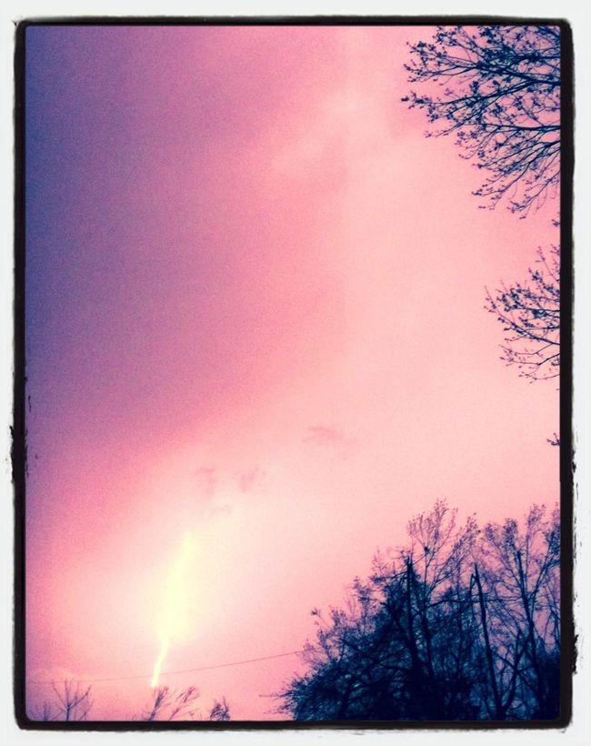 Nature- #clouds #lightening Nofilter Justframe