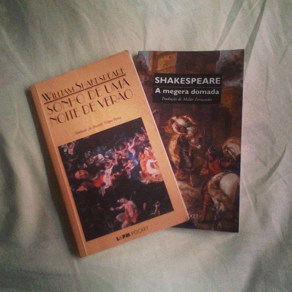 Meus favoritos! Sonhodeumanoitedeverao AMegeraDomada Shakespeare Livros Books