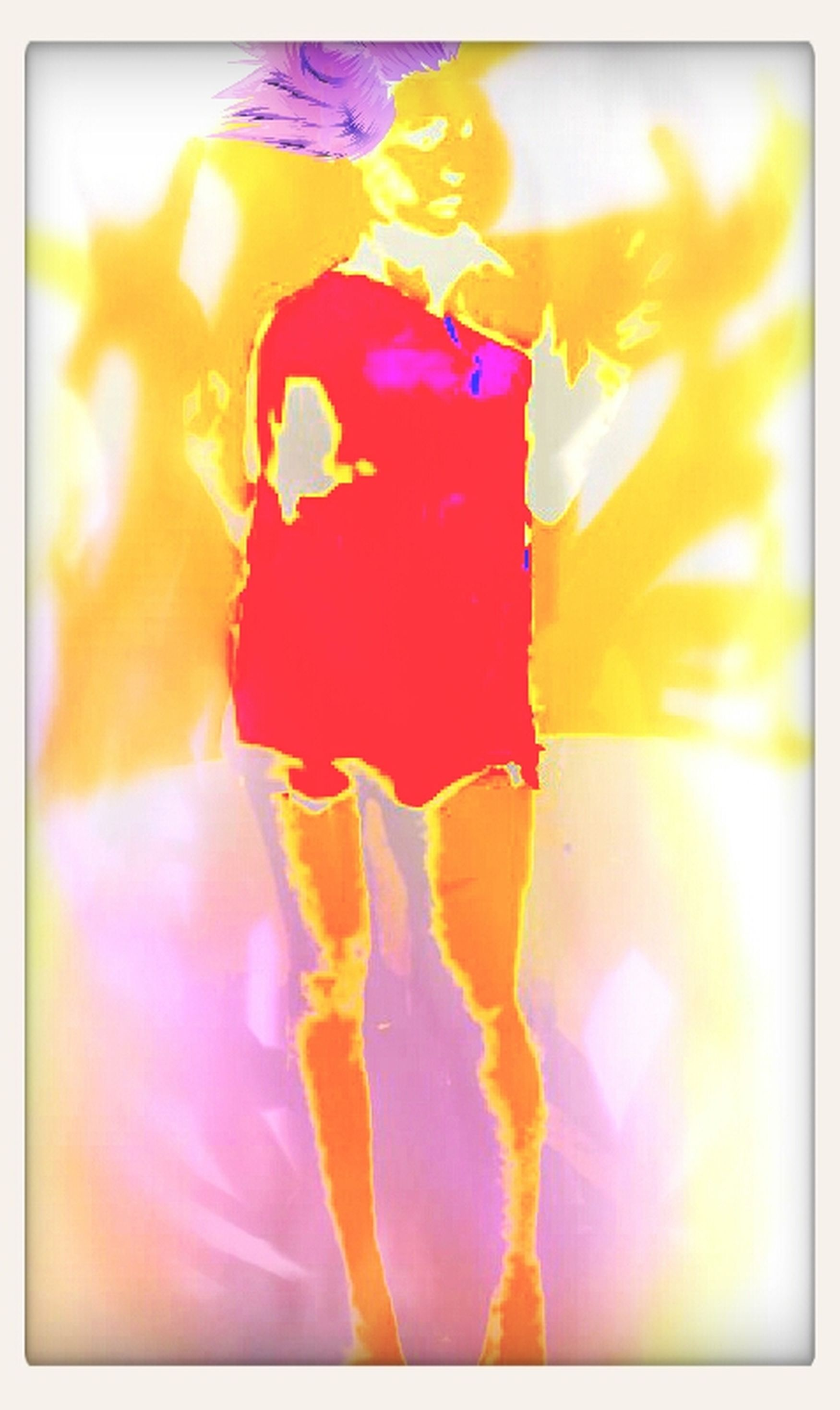 Digital Art She's No Angel U Love That Dress Mohawk Life
