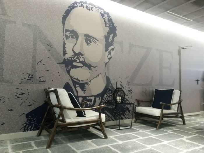 Hotel Lobby Azores Islands Decoration Indoors  Cozy Atmosphere Classy Place