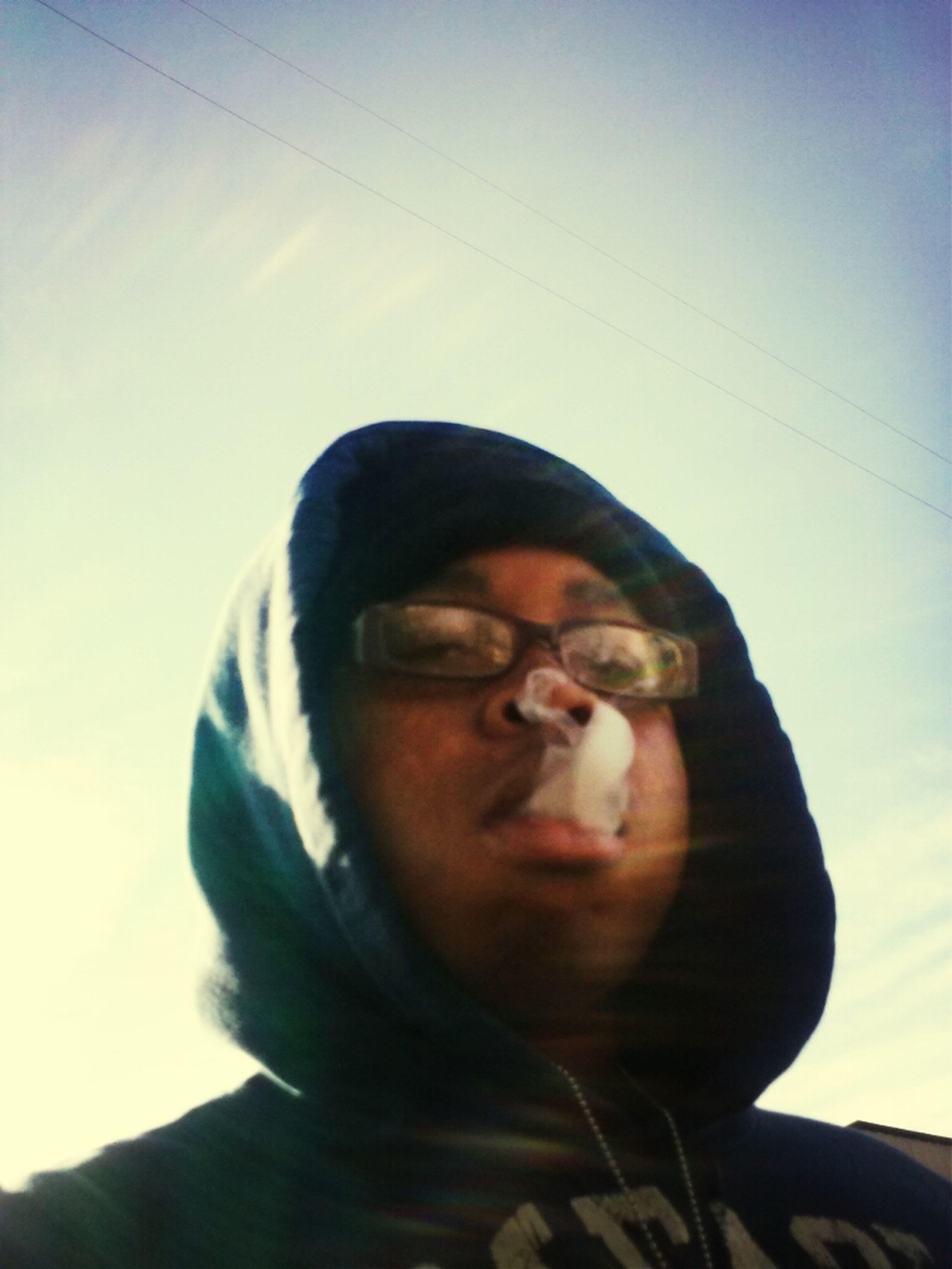 InHale Thr Cush Then I BlowOut