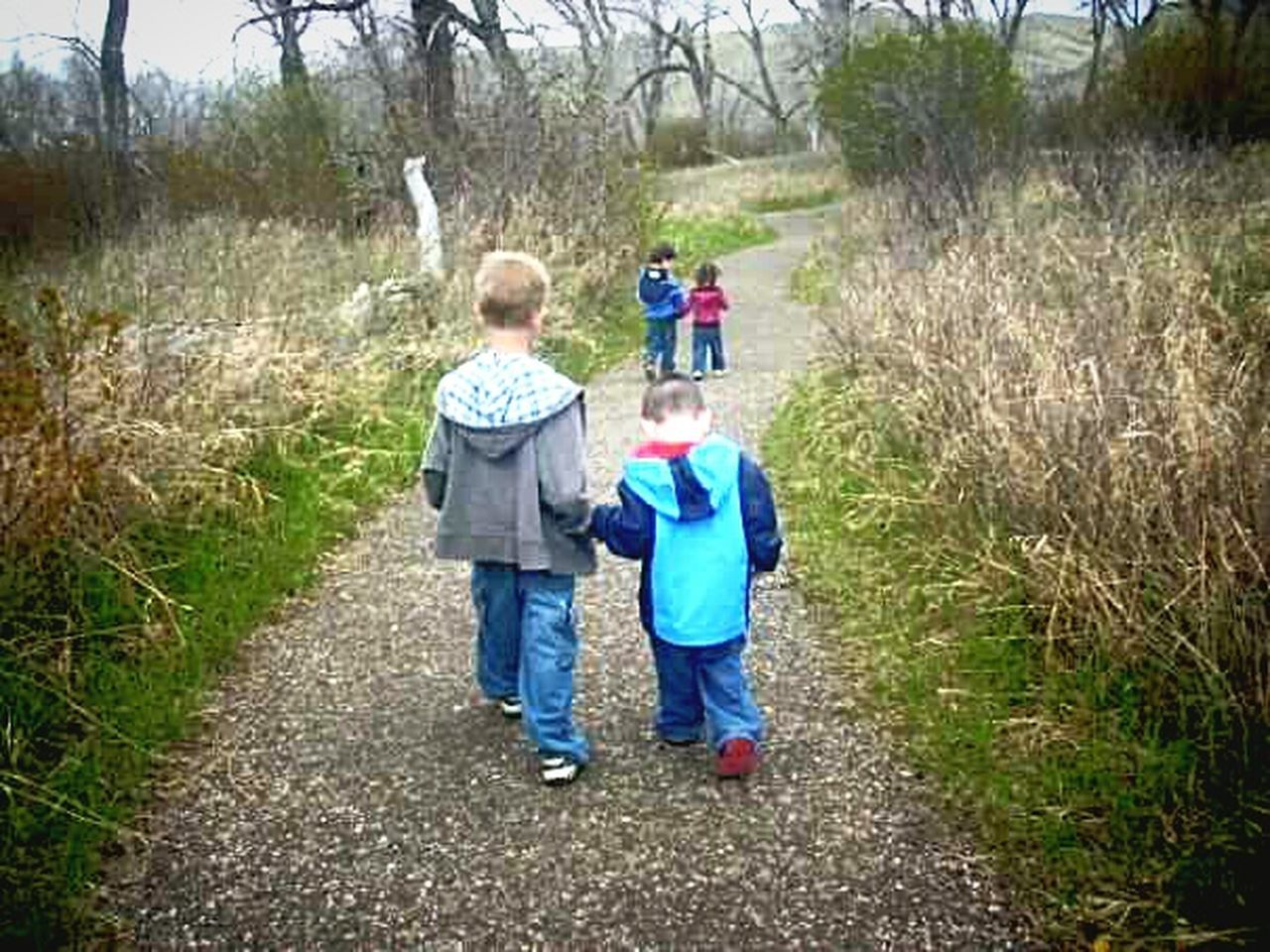 The ants go marching two by two. . . Family Walking Childhood Togetherness Nature Outdoors My Son ❤ Memories Too Sweet Cute Kids Momma Moment Lethbridge Happy Cousins ❤