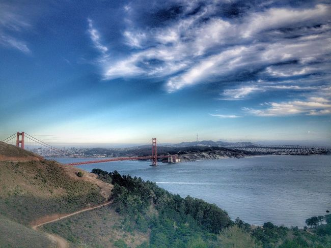 Sky Travel Golden Gate Bridge Bridge San Francisco Travel Photography Cloud - Sky