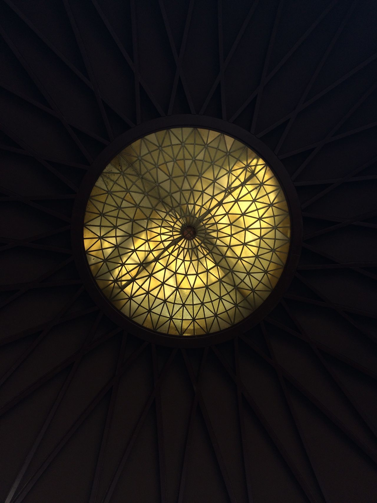 Low Angle View Pattern Ceiling Indoors  Directly Below No People Cupola Built Structure Architecture Day Moncloa Check This Out EyeEm Best Shots Taking Photos Hanging Out Enjoying Life Hello World Ceiling Ceiling Design Ceiling Lights Relief Dome Indoor