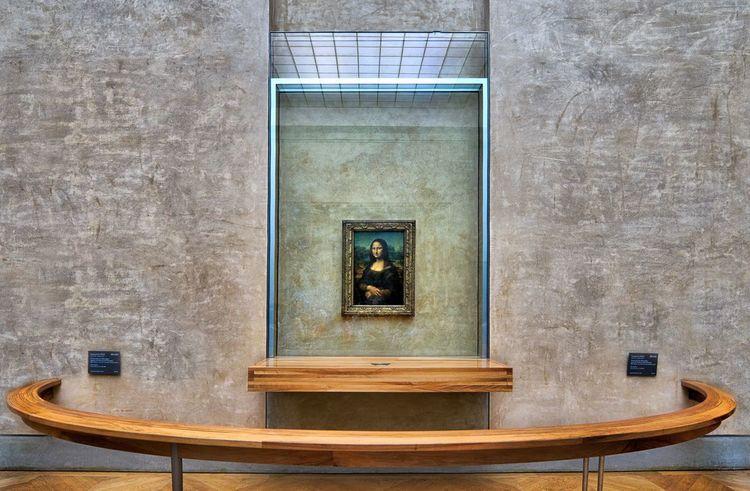No People Mona Lisa Museum Louvre Davinci Architecture Indoors  Art Arts Culture And Entertainment Art Is Everywhere EyeEm Best Shots EyeEm Gallery Museo Mona Lisa Smile France Italy Museums Day Reinassance Museum Of Art Da Vinci Exhibit Monalisa_gallary Art, Drawing, Creativity Artist Francia