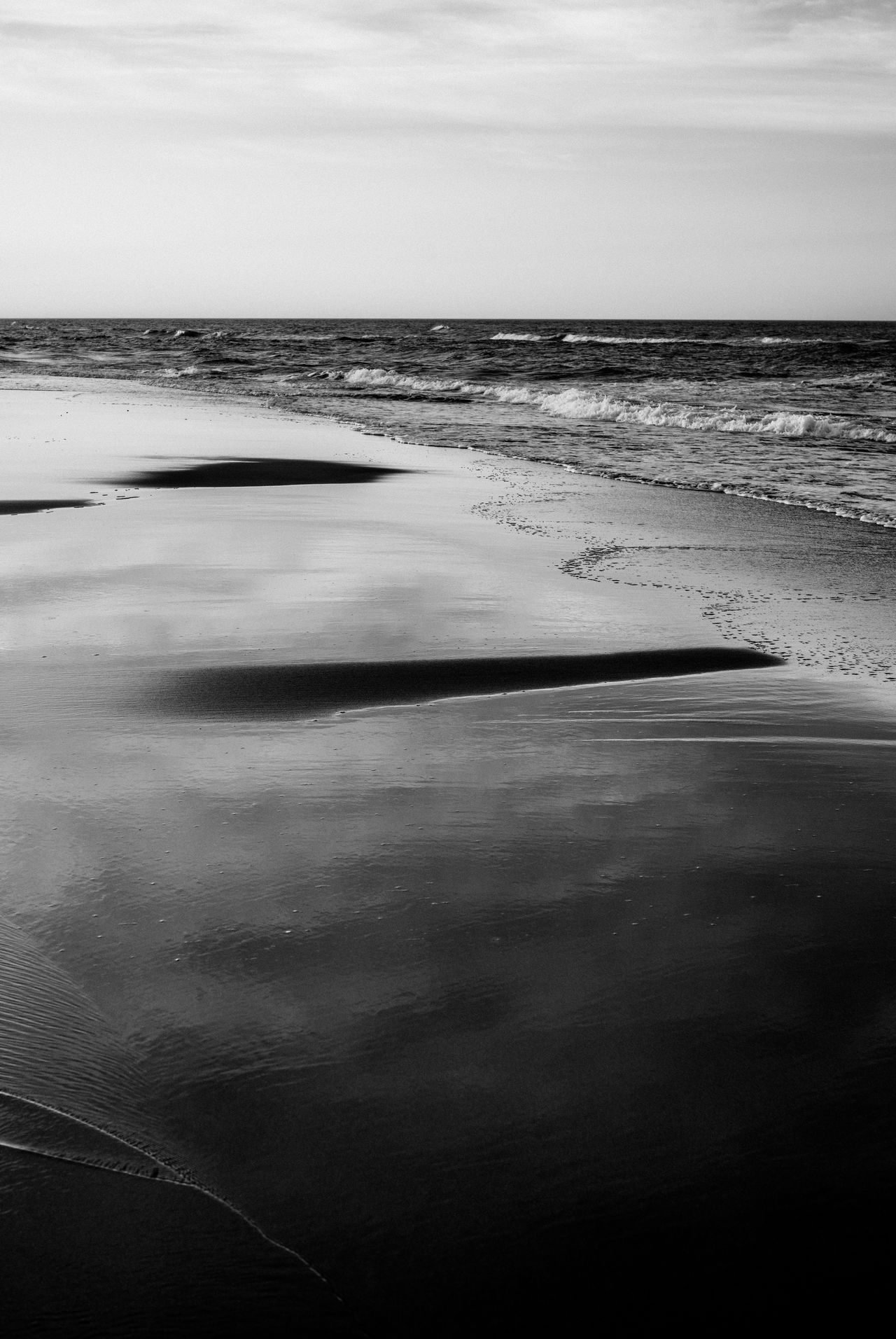 Abstract Photography Beach Beach Photography Beauty In Nature Black And White Photography Blackandwhite Day Horizon Over Water Nature Nature Photography Nature_collection No People Outdoors Scenics Sea Sky Tranquil Scene Tranquility Water Water Reflections Water_collection Wave Waves, Ocean, Nature