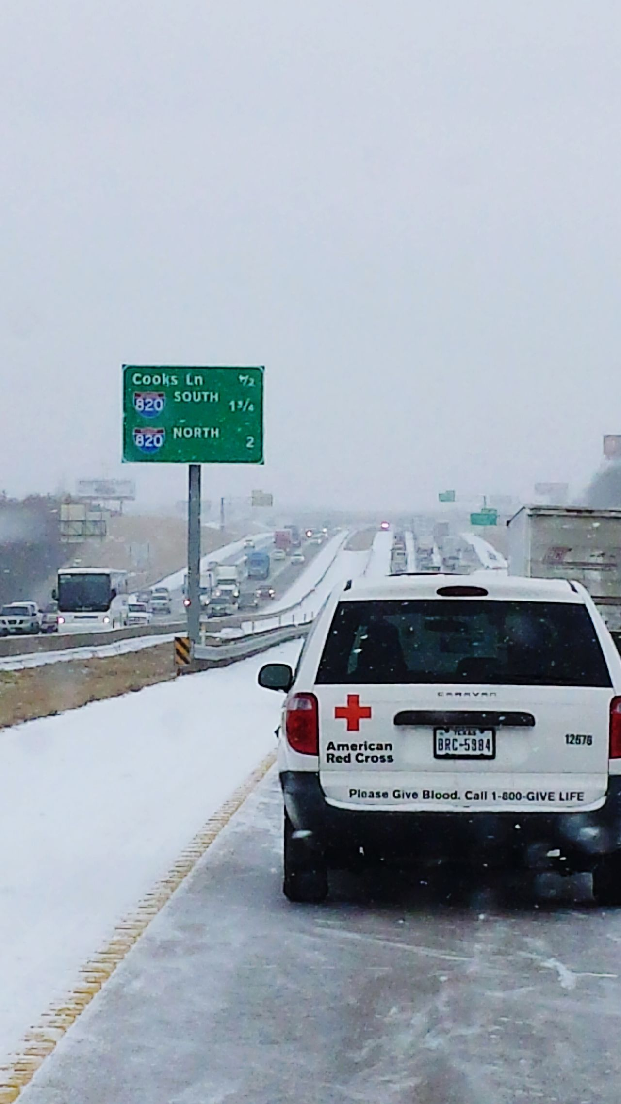 Snow ❄ Traffic Cold Winter ❄⛄ Check This Out Taking Photos Brake Lights