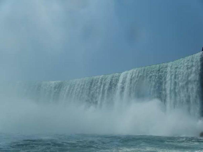 Water Waterfall Long Exposure Nature Outdoors Beauty In Nature Power In Nature Niagara Falls NY Niagara Falls Tranquil Scene Travel Destinations