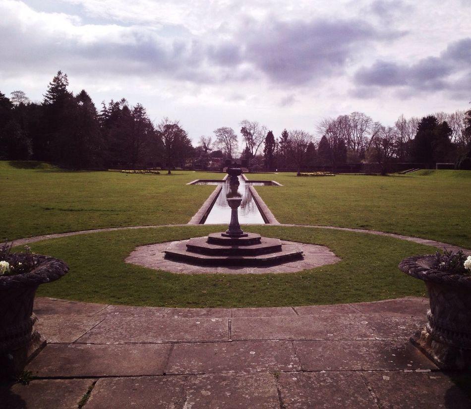 Gardens Grass Fountain