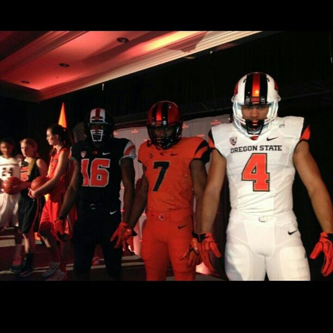 New Oregon State Football Uniforms. Sickaf Betterthantheducks Rebeaved