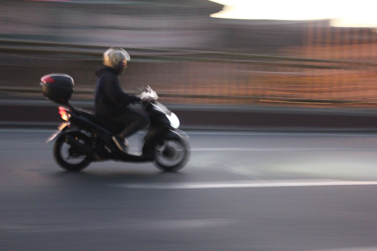 Commute to/from school 1220 INF153ACT1 Light Dof Panning Nuartapp First Eyeem Photo