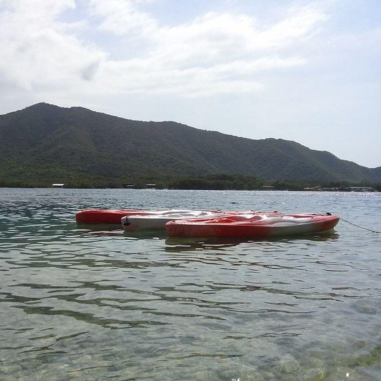 Playa Kayak Ciénaga Aragua Venezuela