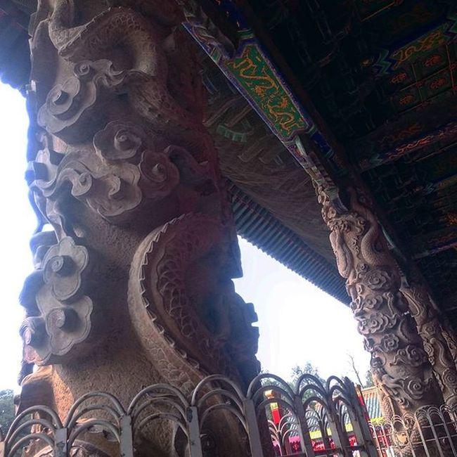 孔庙 龙柱