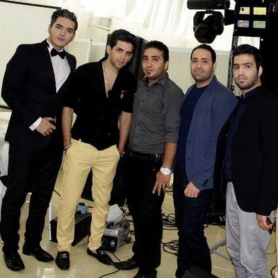 Inam ye axe daste jami ;) Be tartib az samte chap; Saeed Panter, Mahan Zed, Khodam, Mehdi Ghorbani, Pooya Amiri ♥