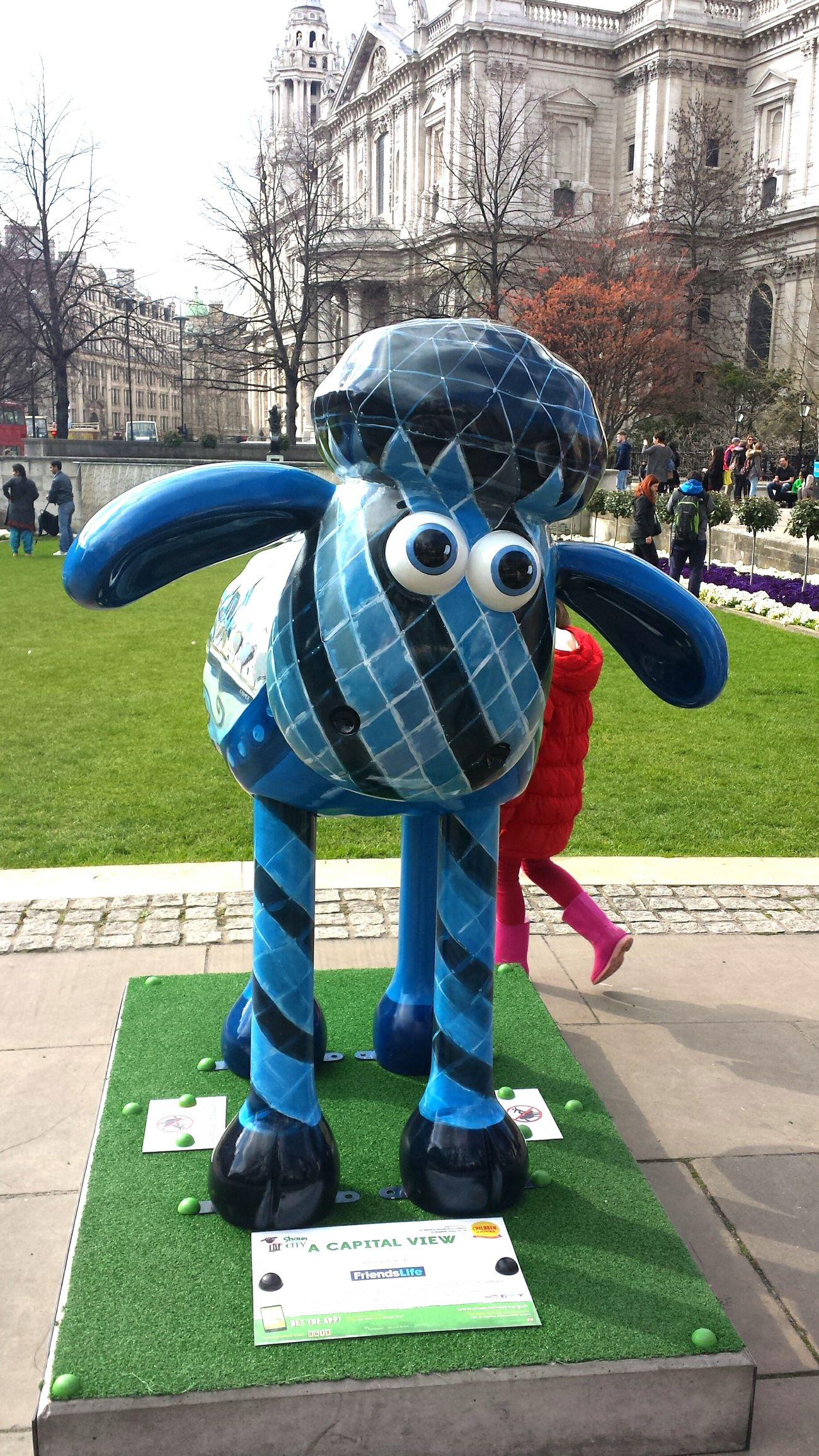 Public Art Sheep Statue