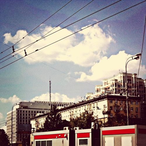 Summer☀️ Moscow City The Most Beautiful City Clouds
