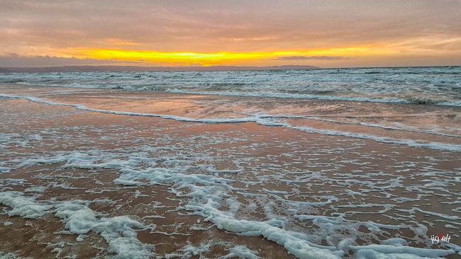 Beach Coastline EyeEm Best Shots EyeEm Nature Lover Horizon Over Water Malephotographerofthemonth Nature_collection Power In Nature Sunset Sunset_collection Water Reflections