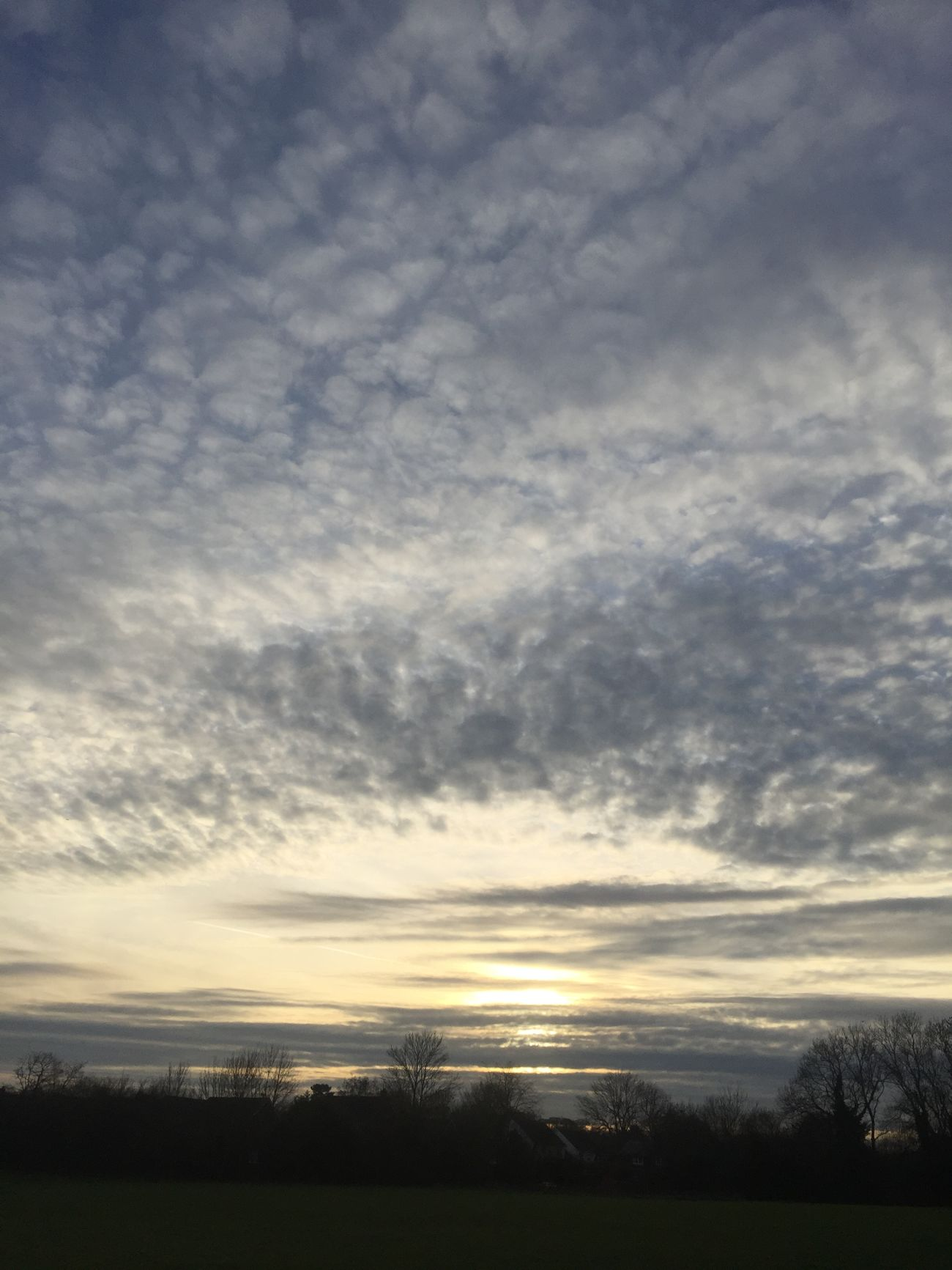 Clouds Sky Sunset Panoramic Photography IPhoneography Lanscape Aston Winter Walk