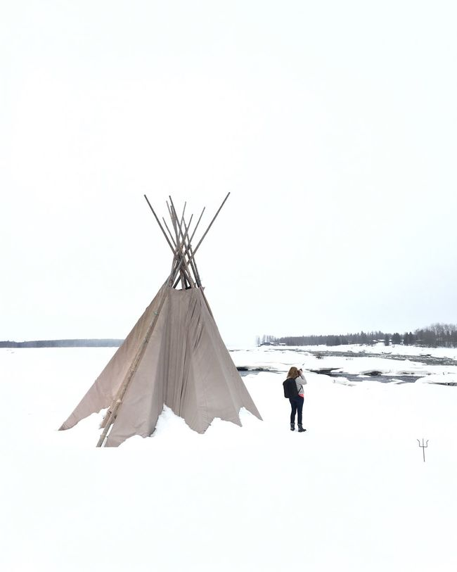 Teepee Lapland Sweden Travel Photography Landscapes With WhiteWall