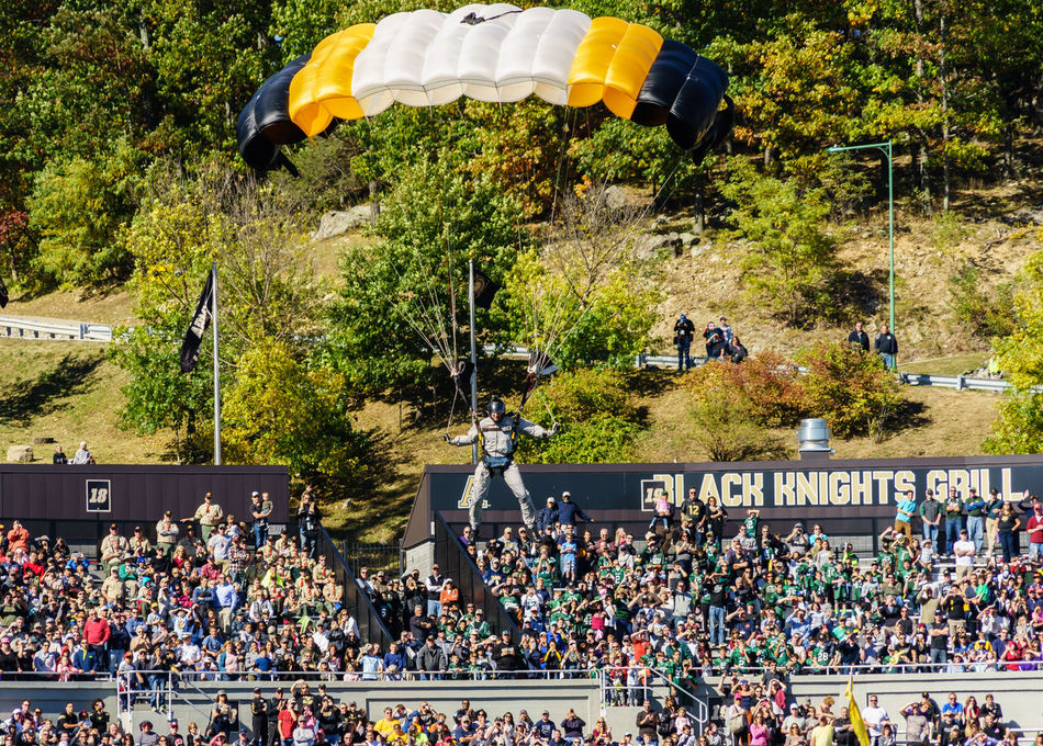 American American Military Academy Army Black Knights College Crowd Day Event Football Horizontal Lafayette Large Group Of People Outdoors People Performance Real People Soldier Sport USA Westpoint