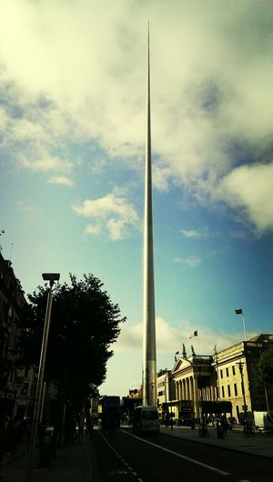 Tallest Structure  in Dublin Skys The Limit WOW