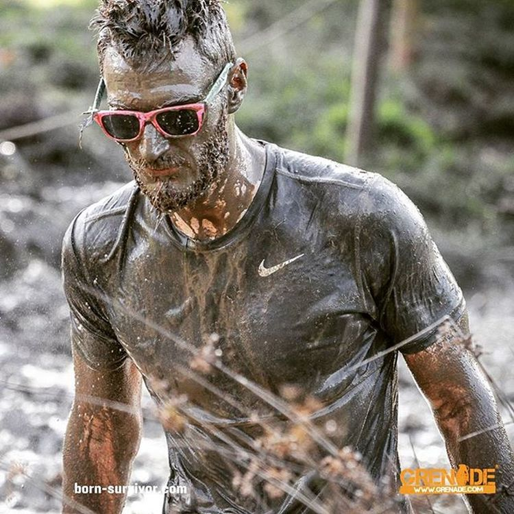 Me and my trusty sunglasses! Bornsurvivor Ocr Bs5 Lovemud Muddyrace Mudrun MudFun Mud Obstaclecourseracing