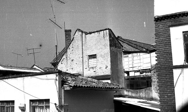 Analog Camera Analogue Photography Architecture Black And White Blackandwhite Building Exterior Built Structure Canon AE-1 Canon AE-1 Program  Exterior No People Old Urban
