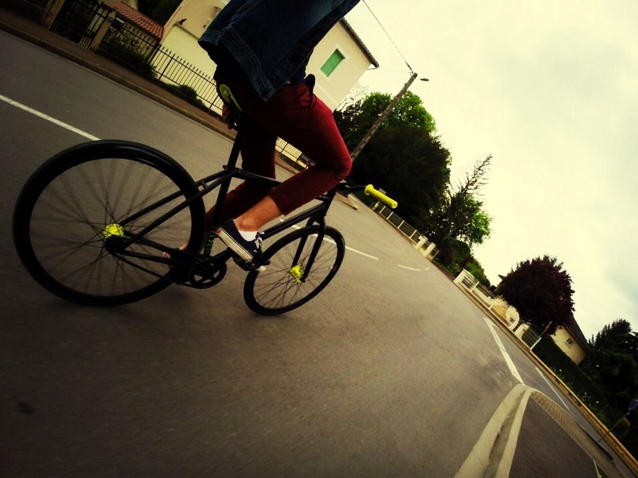 Fixie Fixed Gear Pignon Fixe First Eyeem Photo