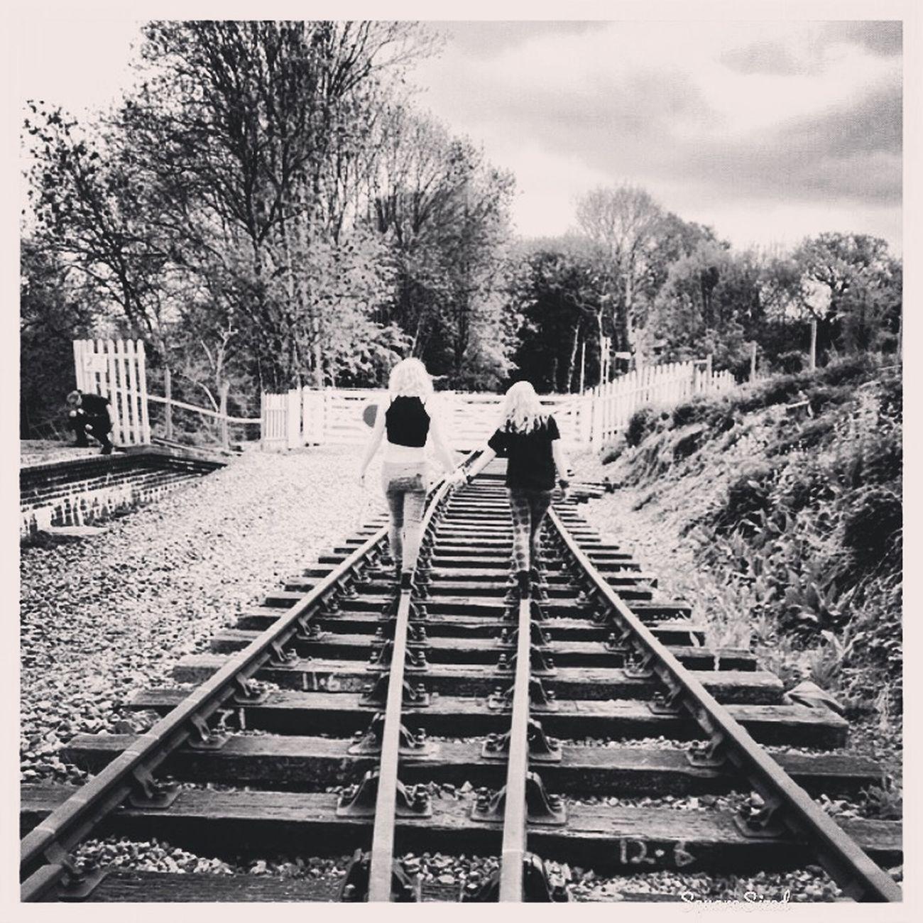Bestfriend Train Tracks Bestfriend Handinhand