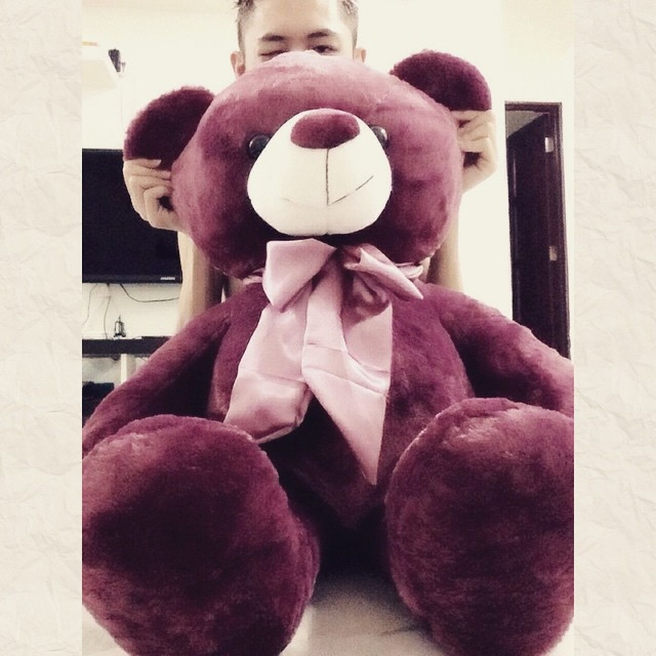 Happy Valentine's Day!!!! 和你天天都是情人节! Happy Valentinesday Loveyouforever Teddybear