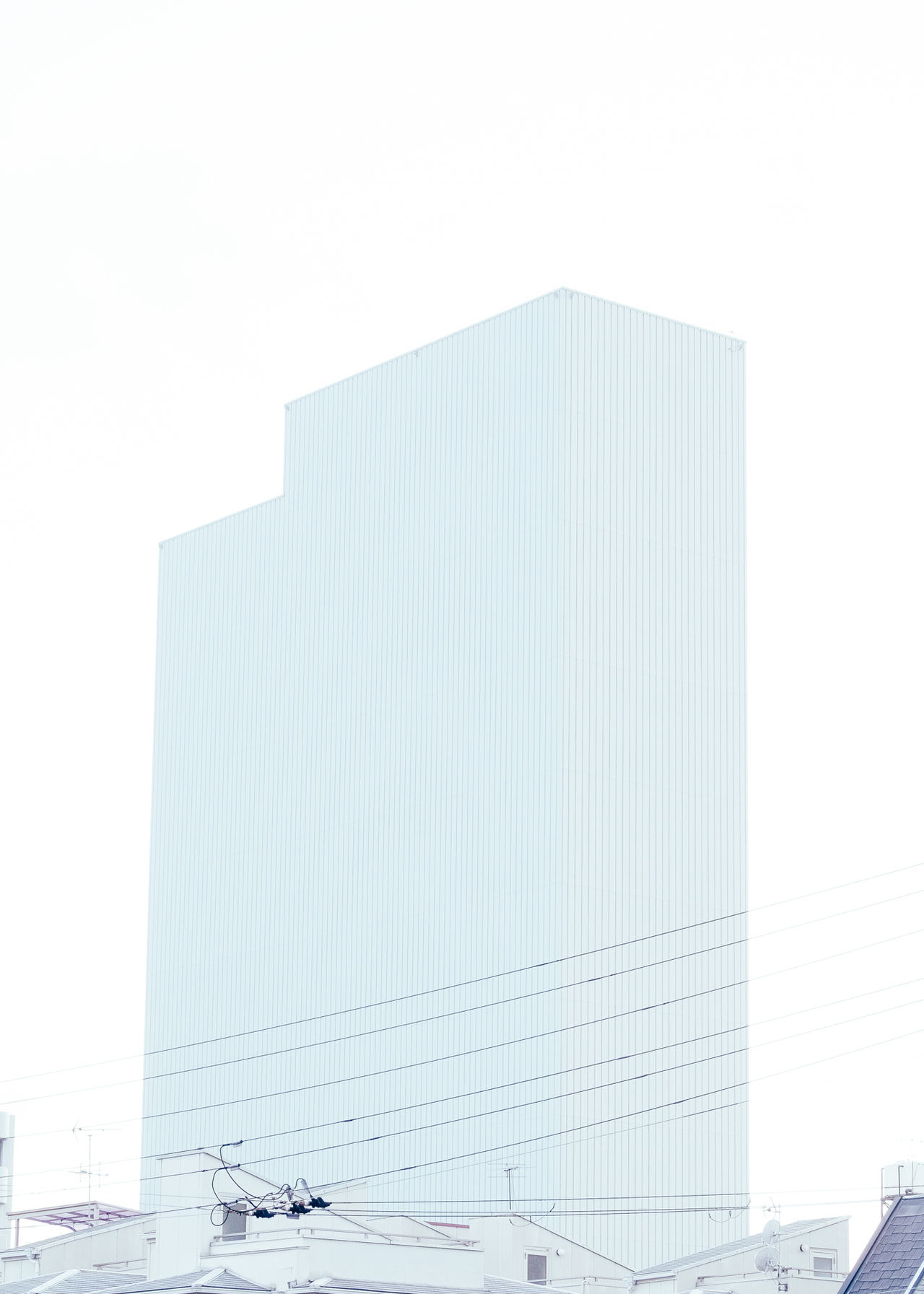 less decorative is the decoration Architecture building exterior built structure clean Clear sky day Eyeem architecture Japan minimal Minimalist Architecture minimalobsession no people outdoors simplicity sky urban landscape white white background