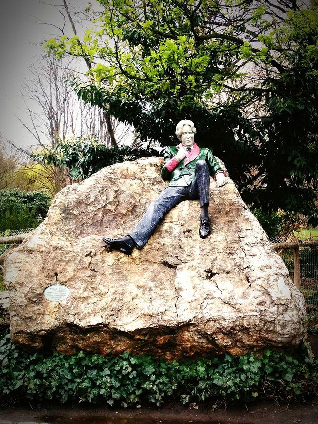Oscarwilde Dublin Ireland Monument