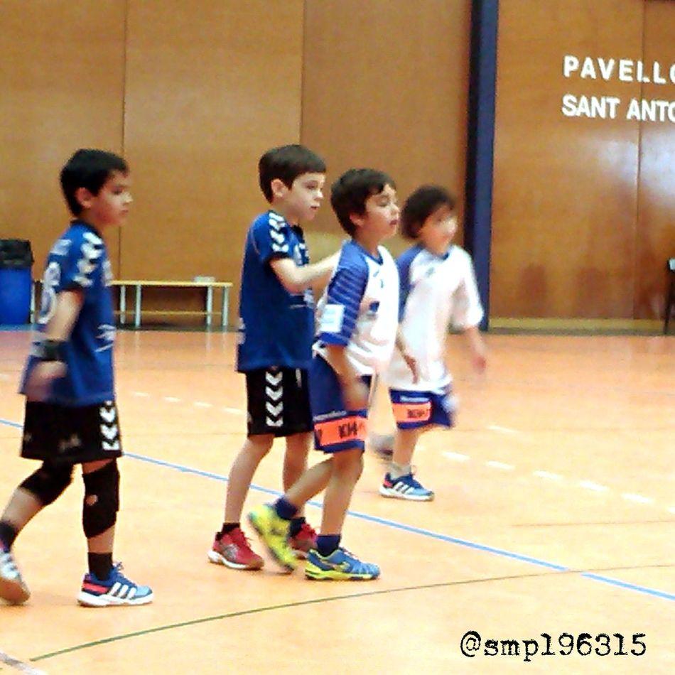 Handball Santantonidevilamajor vs Granollers prebenjamín 9/15. Igersvoriental