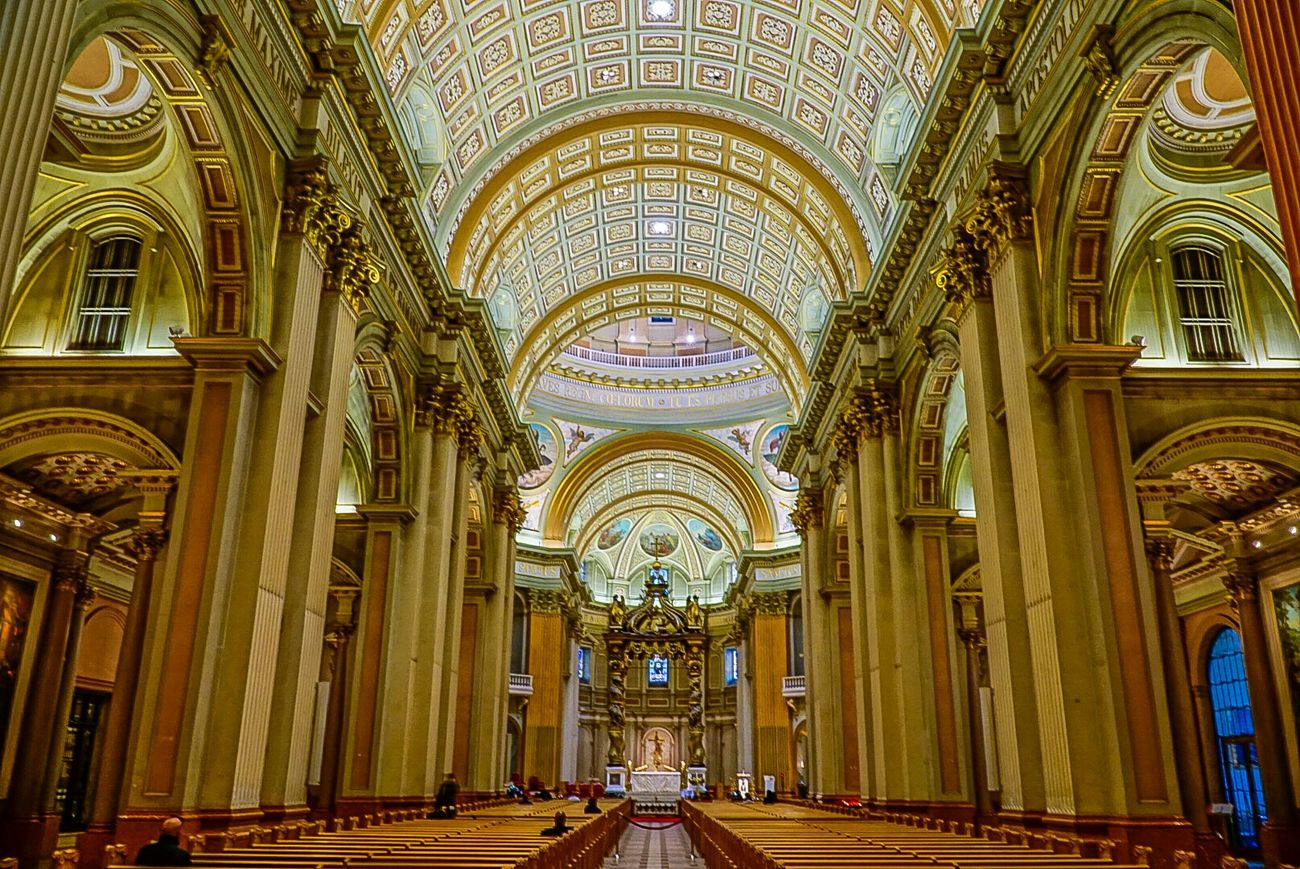 Mary, Queen Of The World Cathedral Montréal Canada Churches Cathedral Sony A6000